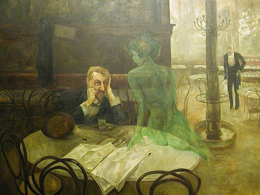 "…als ""die grüne Fee"" van Goghs Ohr raubte"