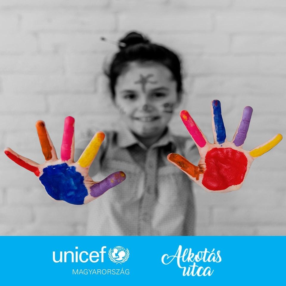 Am Welt-Kindertag gab es farbenfrohe Aktivitäten in Budapest